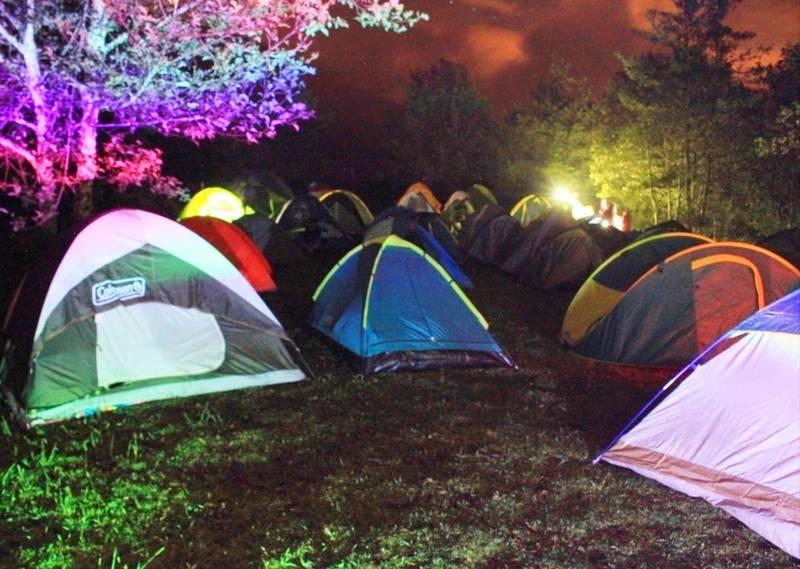 Cine Camping para el feriado