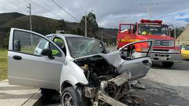 Accidente de tránsito en la vía Cuenca-Azogues deja una persona herida
