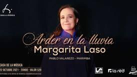 Margarita Laso vuelve a los escenarios en la Casa de la Música